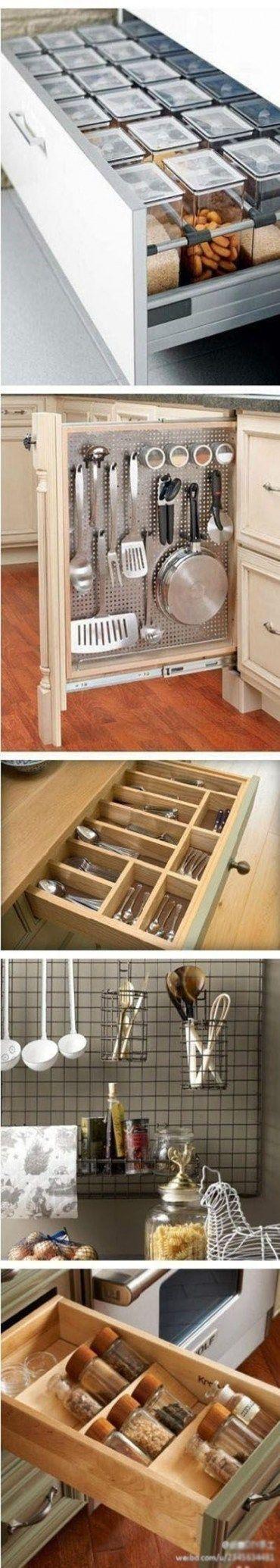 New diy organization drawers spice racks ideas #diy ...
