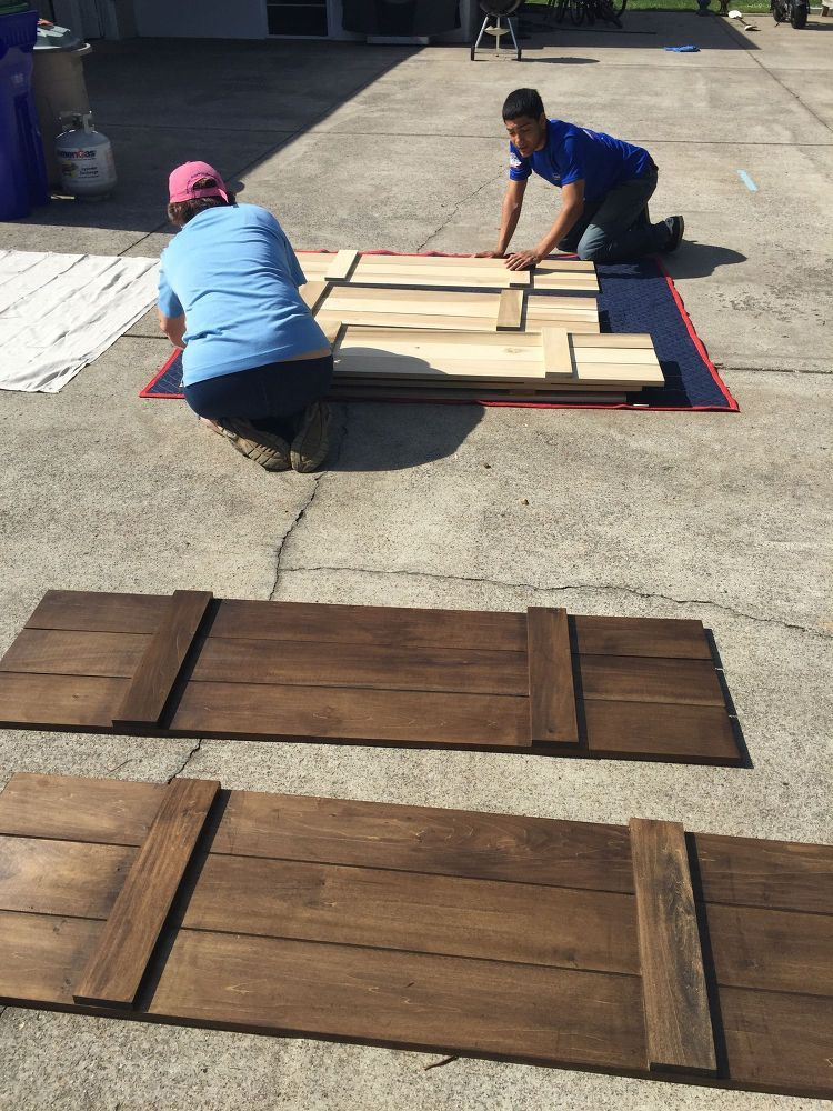 How To Build Board And Batten Shutters Diy