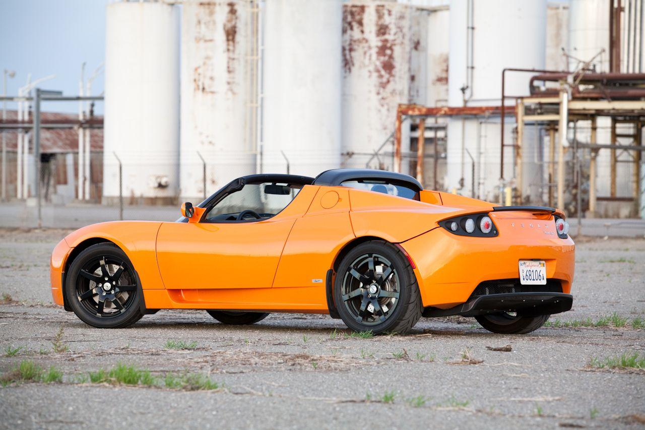 """2010 Tesla Roadster for those """"Mrs. Emma Peel""""days"""
