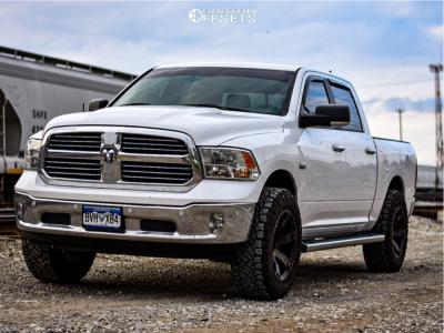 2014 Ram 1500 20x10 18mm Fuel Beast in 2020 Dodge 1500