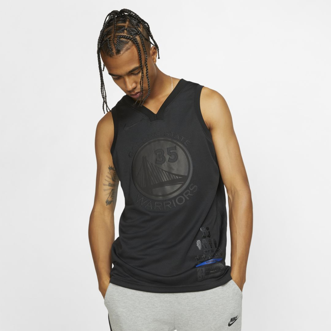 a9c850098404 Kevin Durant MVP Swingman (Golden State Warriors) Men's Nike NBA Connected  Jersey Size 2XL