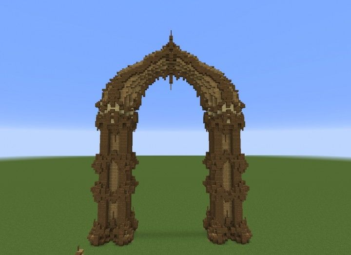 Arch Minecraft Project Minecraft Banners Minecraft Projects Minecraft