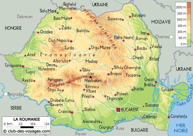 Carte De La Roumanie Carte De La Roumanie Carte Roumanie