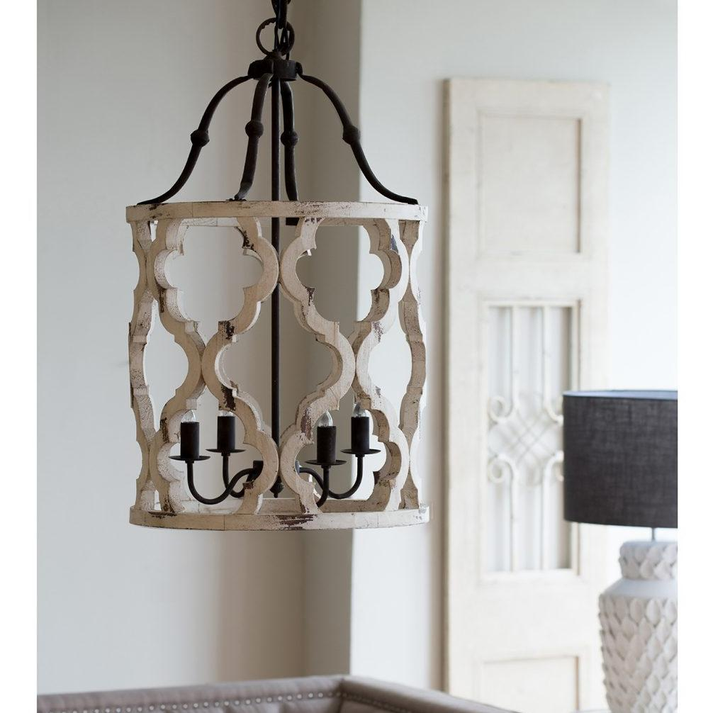 Distressed Barrel Chandelier Local Only A B Home Wood Chandelier Beaded Chandelier