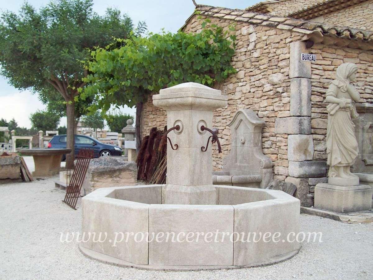 Fontaine centrale en pierre La Campagne 200 fonc-C-200 | Fontaines ...
