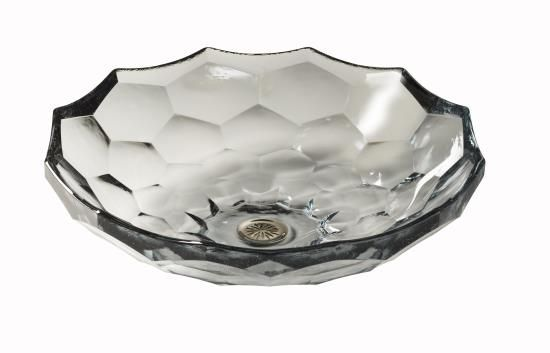 KOHLER® Briolette™ Vessels glass lavatoryKOHLER® Briolette™ Vessels glass lavatoryList price: $778.25 and up