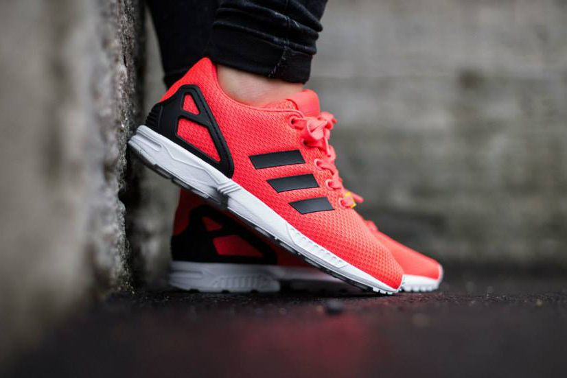 adidas zx flux in rot