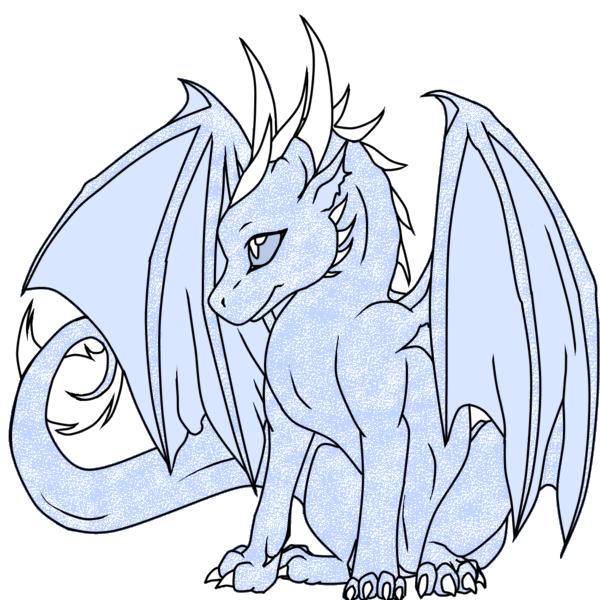 simple dragon | Dragon Adopt 2 -- Ice Dragon || Closed by ...