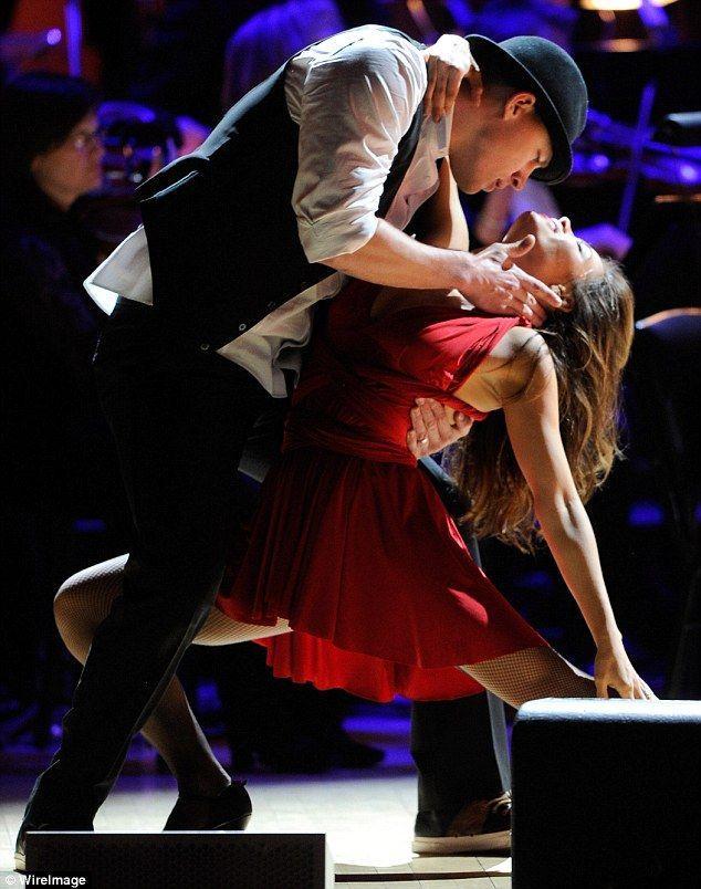 Channing Tatum dirty dancing with wife Jenna Dewan