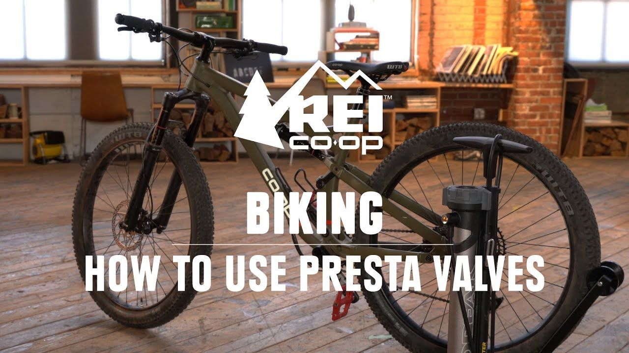 How To Pump Up A Bike Tire With Presta Valves Rei Youtube