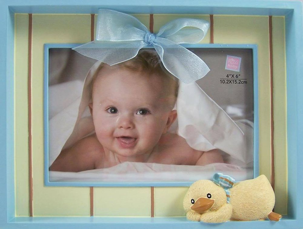 Russ BLUE BABY BOY DIDDY DUCK PHOTO FRAME - Free Local Post - New ...