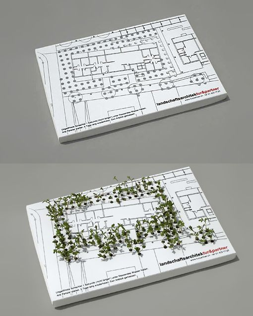 Architect Cards amazing business card concept for a landscape architect | business