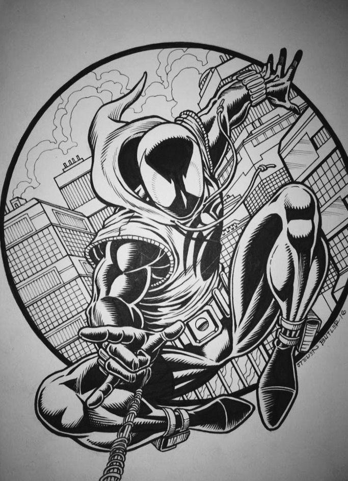 Scarlet Spider Ben Reilly By Steven Butler Scarlet