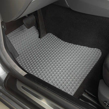 Rubber Floor Mats For 1992 2005 Vw Eurovan Rubber Floor Mats Vw