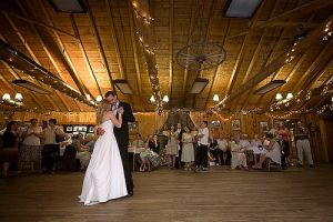 Dance Hall for a wedding at Peaceful Valley Resort & Conference Center in Lyons, Colorado.