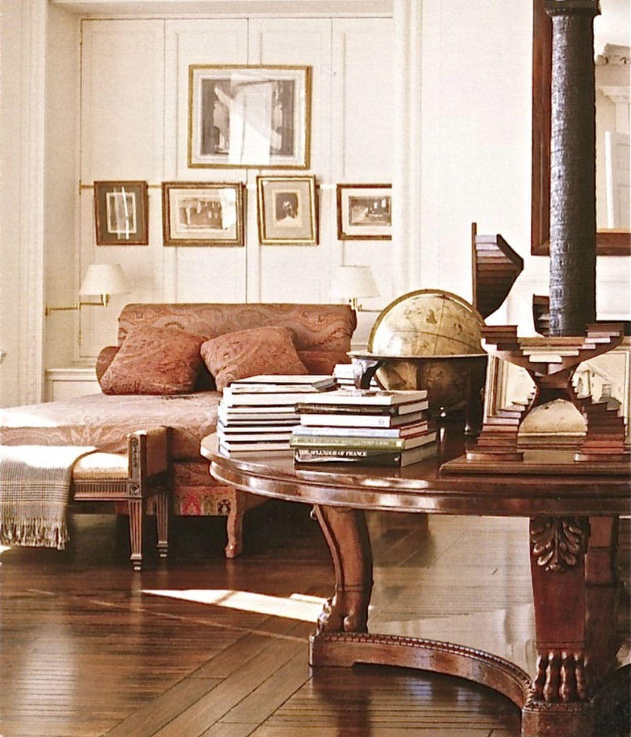 Bill Blass One Sutton Place House Interior Classic Interior