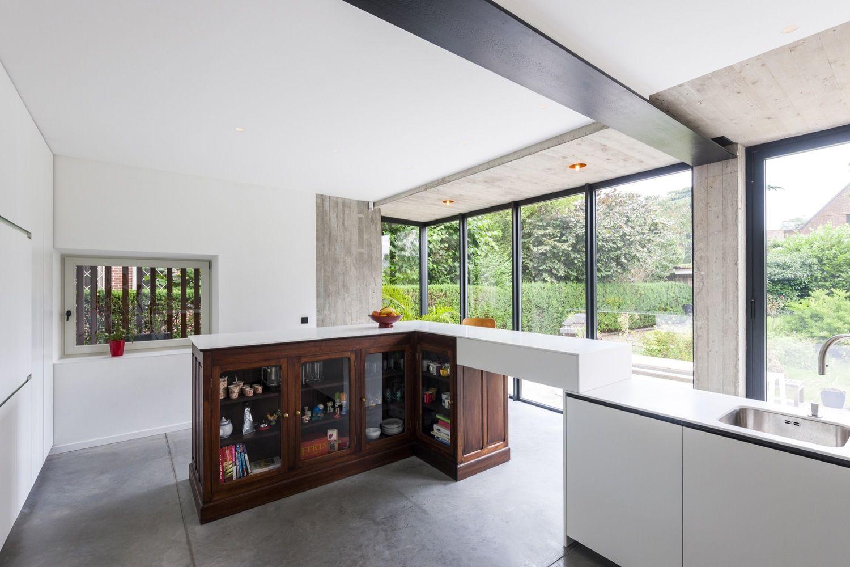 Onwaarschijnlijke renovatie van een oud huis in Gent