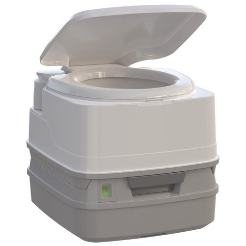 Thetford Porta Potti Qube 345 Portable Chemical Toilet Caravan Camping White