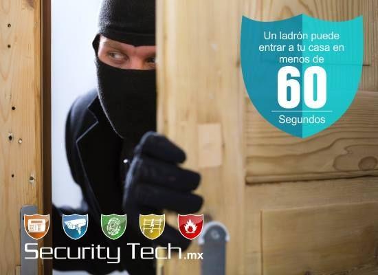 ¡Un ladrón puede entrar a tu casa en menos de 60 segundos! Security Tech - Vanguardia en Seguridad, mantendrá tu casa segura.  Para más información, visíta el Sitio Oficial www.securitytech.mx | #securitytech  Encuéntralos en Connection Plaza | www.connectionplaza.com.mx #connectionplaza