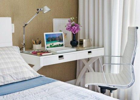 Tres ideas para peque os escritorios escritorios - Mesas para ordenadores portatiles ...