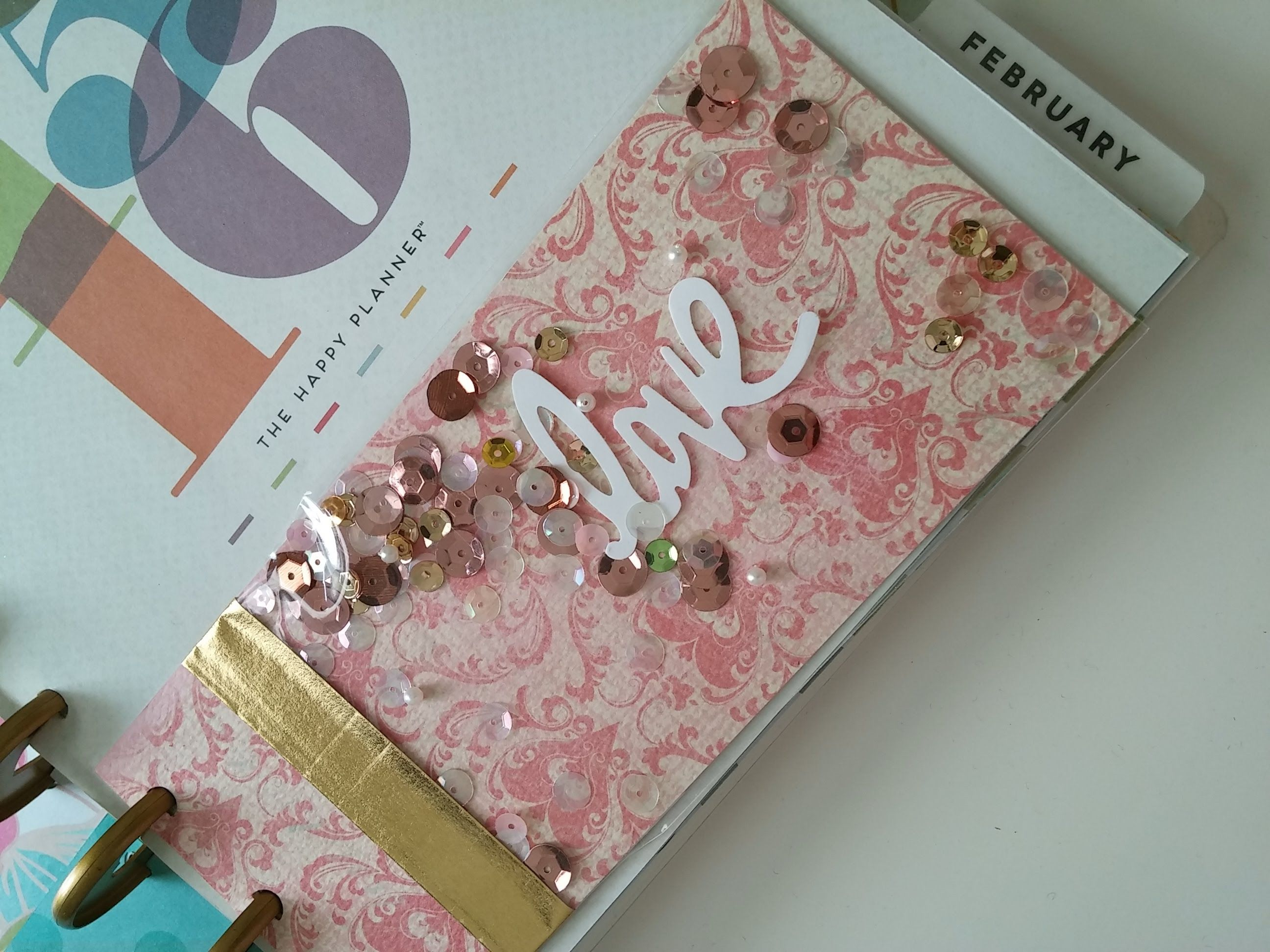I Made Some Shaker Cards For My Planner And Journal Using Cellophane