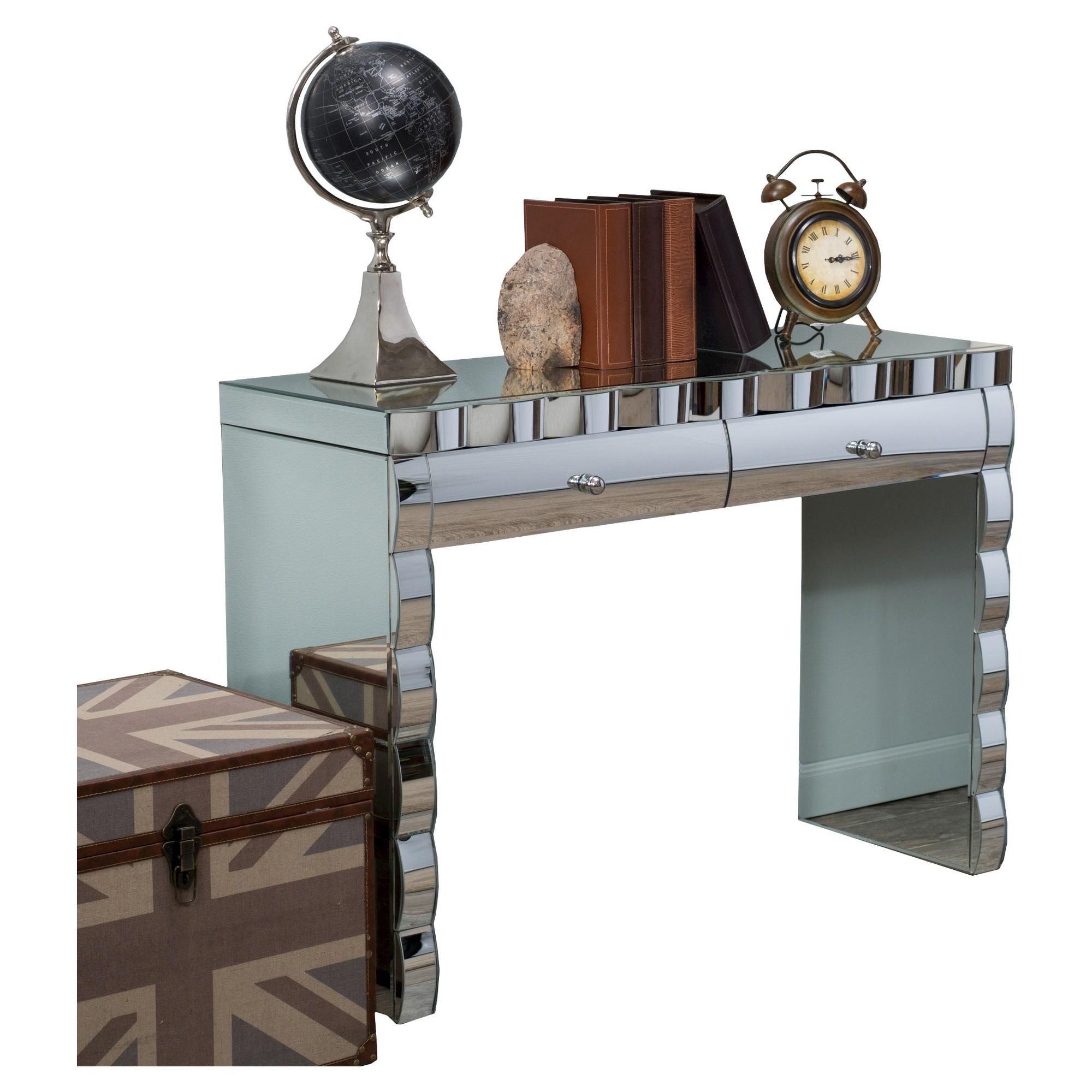 Console Table Silver