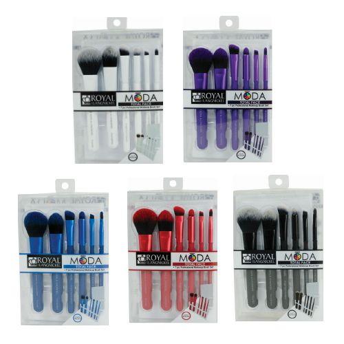 Royal And Langnickel Moda Total Face Brush 7 Pc Set Makeup Brush Set Face Brush Makeup Brushes
