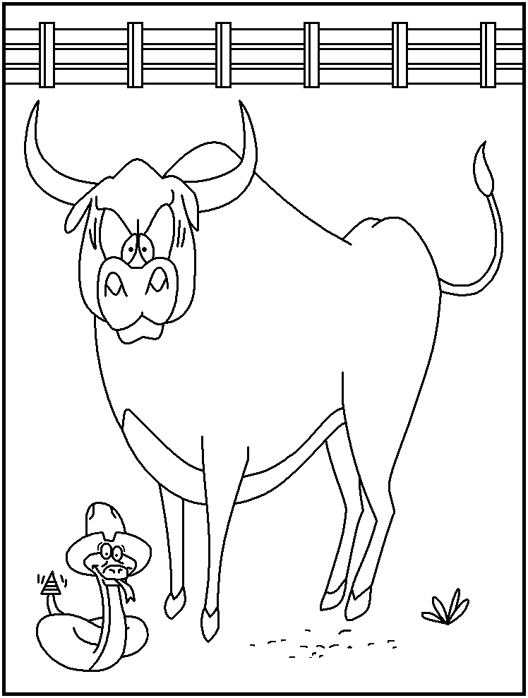FREE Printable Rodeo Coloring Pages page 2 - great for kids ...