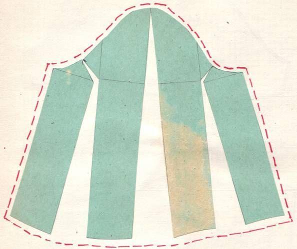 Выкройка платья рукав узкий