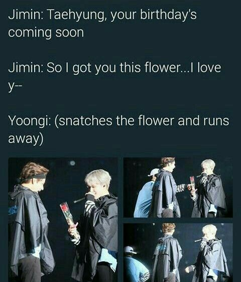 YOONGI DOESN'T LET ANYONE STEAL WHATS HIS  ASJFZXSEZX JEALOUS OF