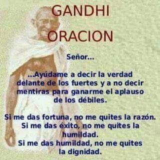 》Oración ~ Gandhi《