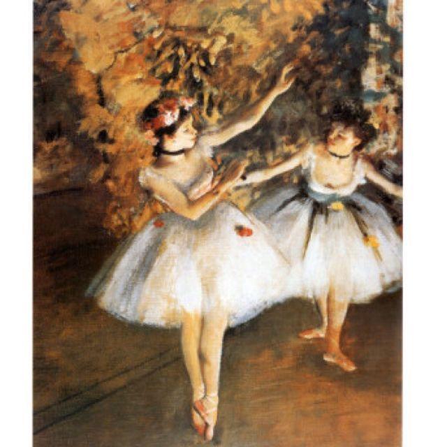 Two Dancers by Edgar Degas