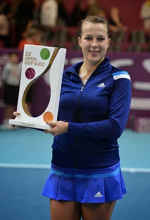Anastasia Pavlyuchenkova captures her 1st WTA Premier title at OPEN GDF SUEZ with a comeback 36 62 63 win over Sara Errani. #WTA #Pavlyuchenkova #OPENGDFSUEZ