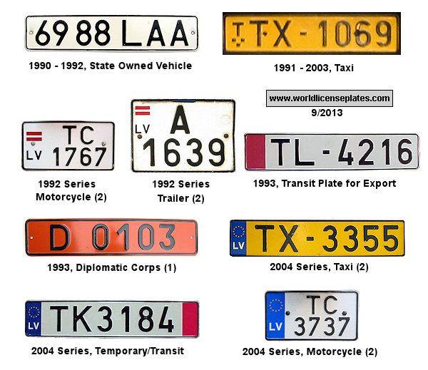 Images Of Europe Registration Plates
