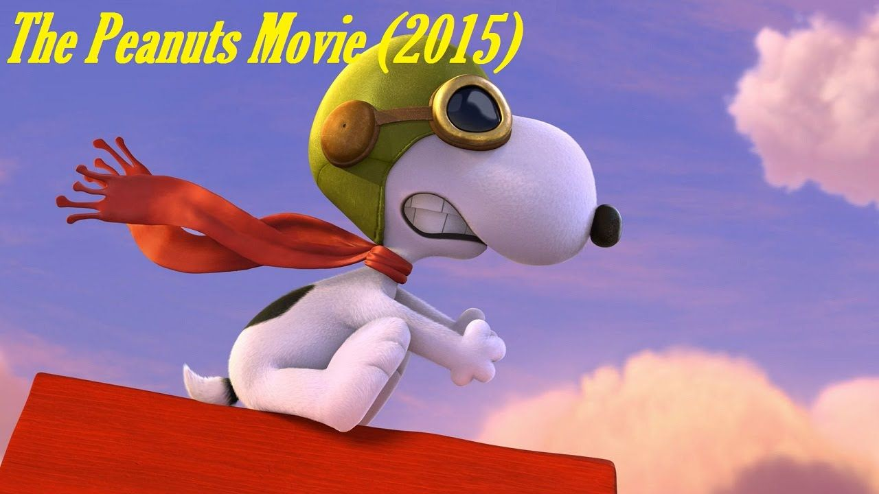 Learn How To Draw Snoopy As The Flying Ace From The Peanuts Movie When  Snoopy Is The Flying Ace He Is Pretending To Fly On His Dog House