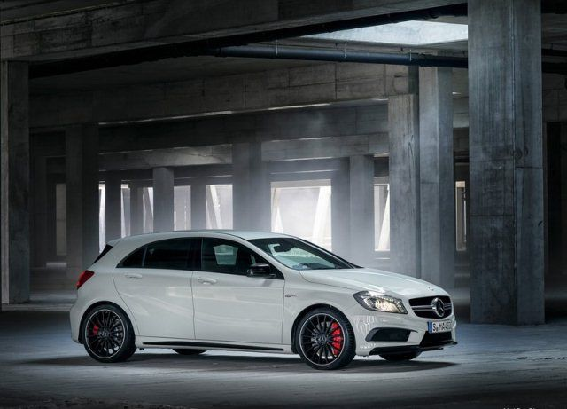 2014 Mercedes Benz A45 Amg White With Images Mercedes A45 Amg