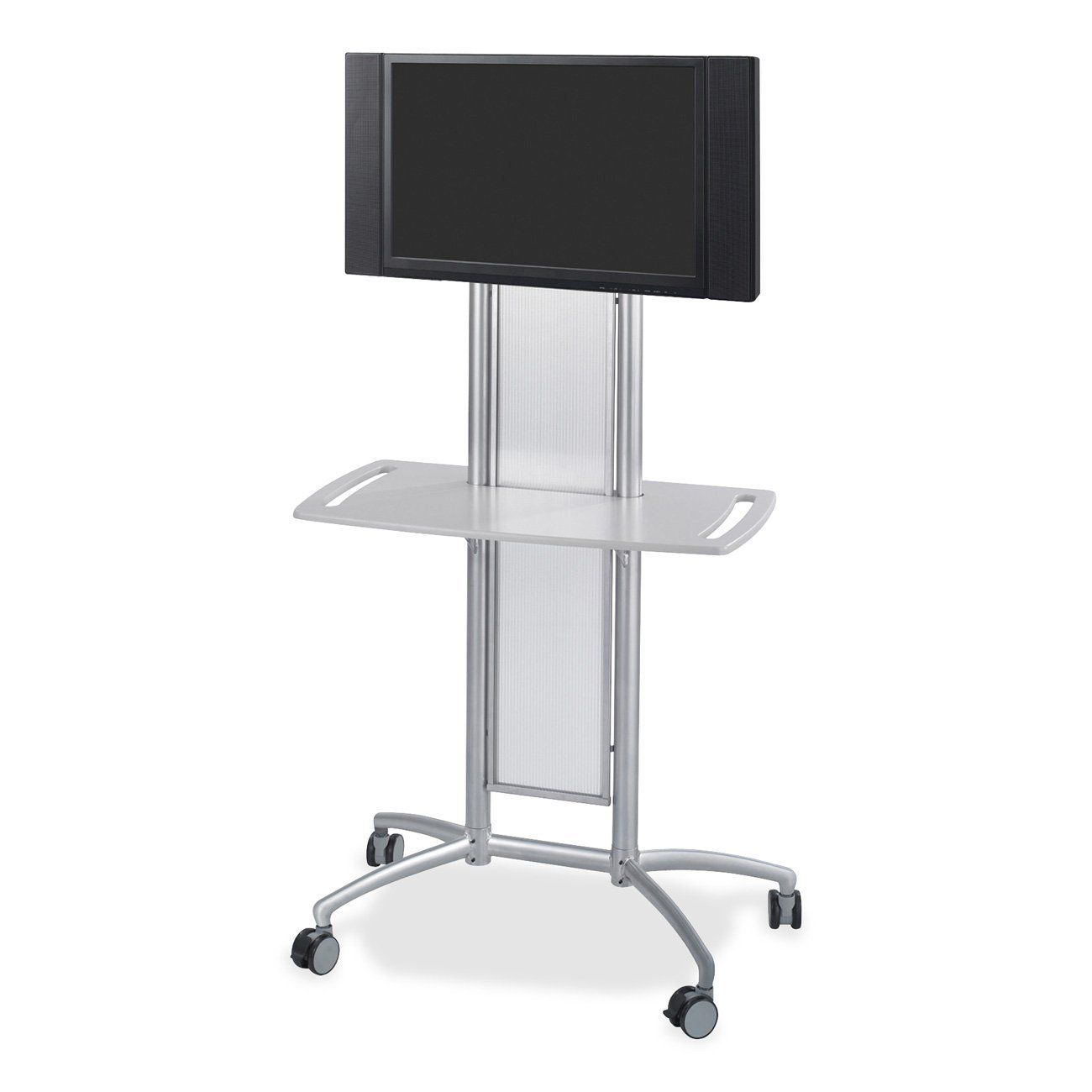 Amazon.com: Safco Products 8926GR Impromptu Flat Panel TV Cart, Metallic Gray: Office Products