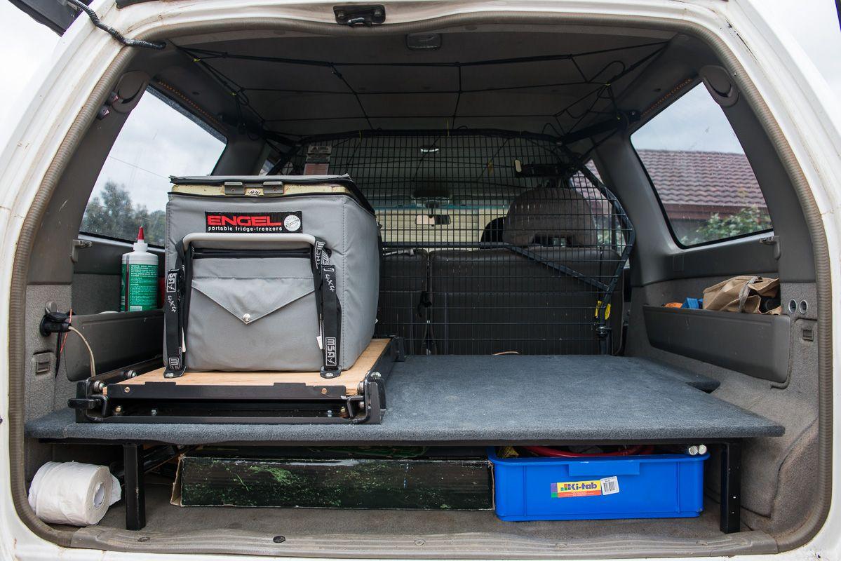 DIY: False Floor - Alternative to drawers   Jeep mods