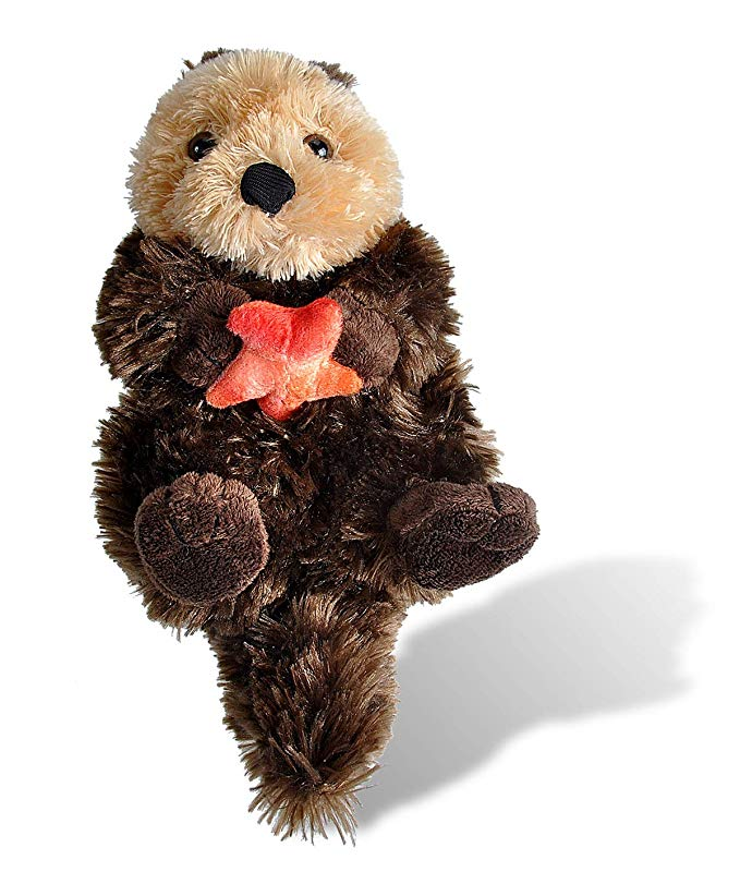 Wild Republic Sea Otter Plush, Stuffed Animal