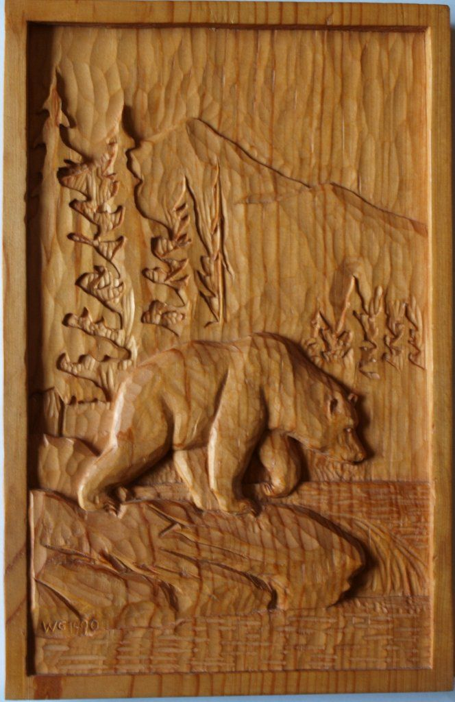 Wildlife relief carvings werner groeschel s wood carving