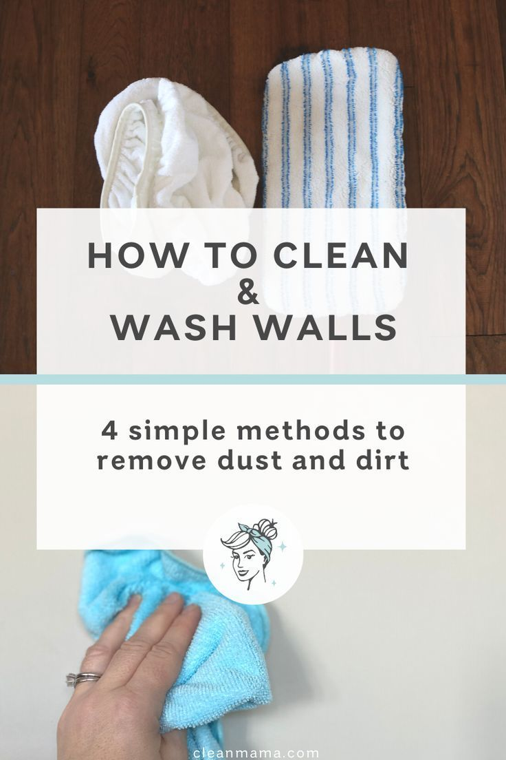 How To Clean And Wash Walls Cleaning Walls Clean Mama Cleaning