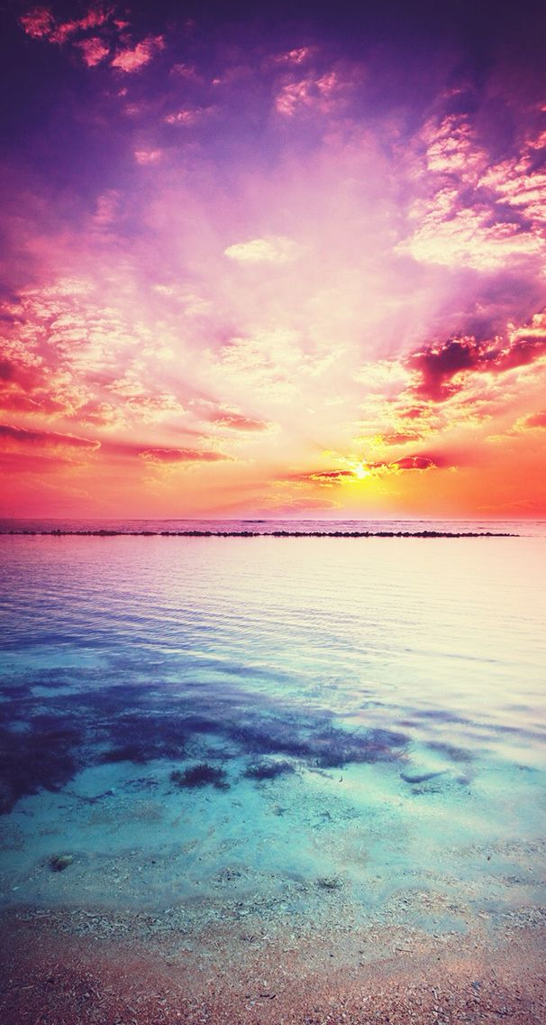 Sunset background Achtergronden, Leuke achtergronden