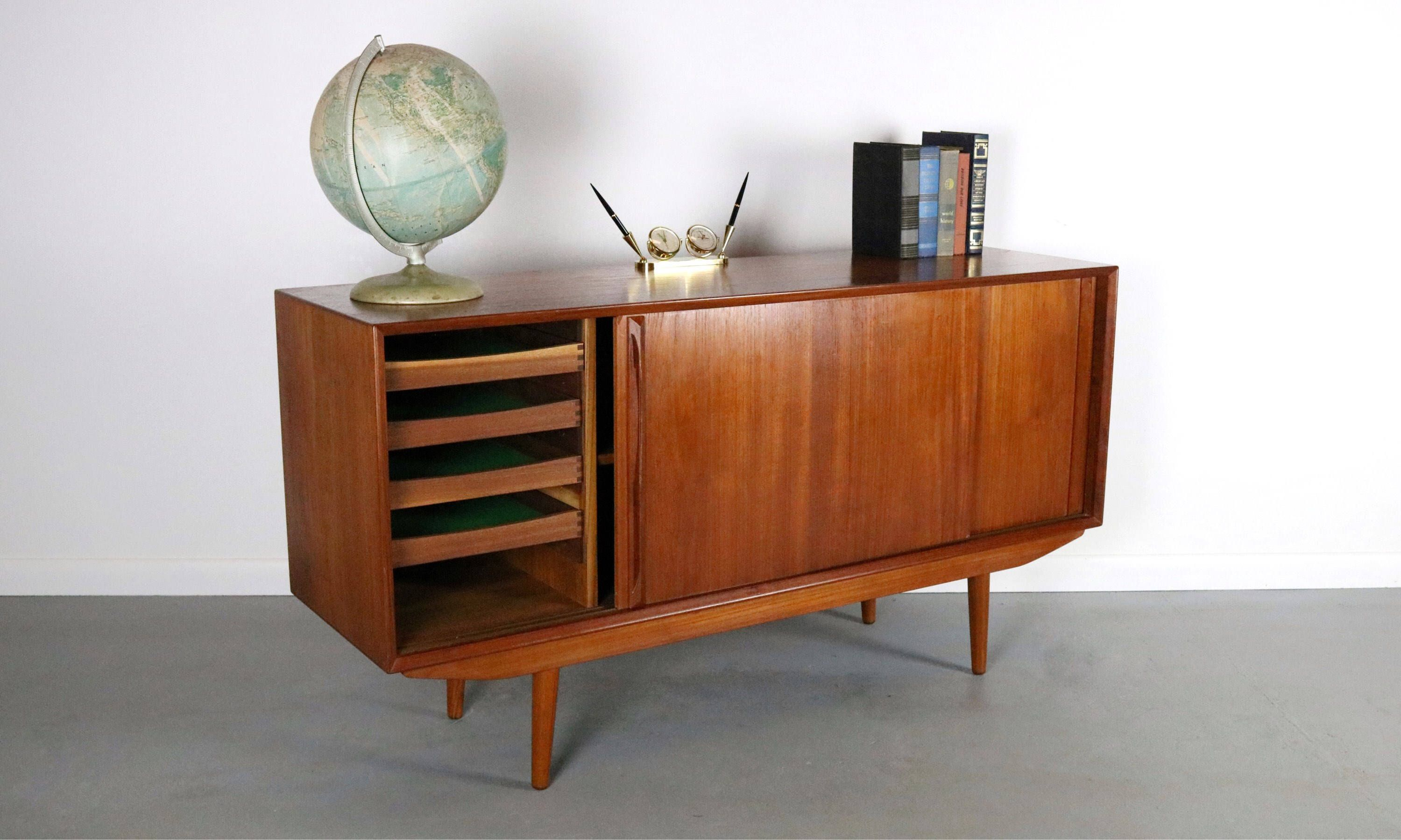 Danish Modern Buffet Credenza : Pin by sloane kelley on sideboards pinterest credenza modern