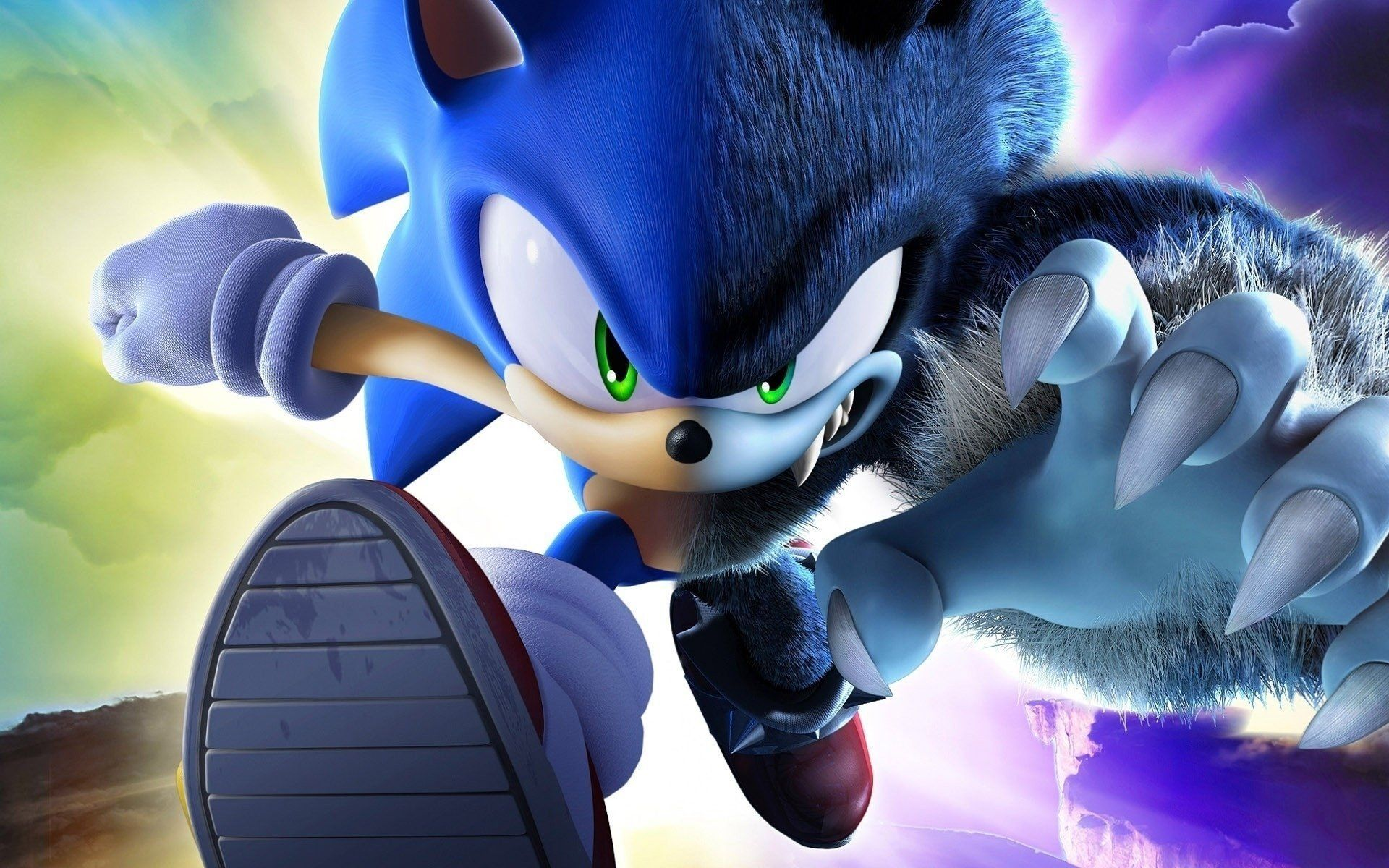 Sonic Unleashed Wallpapers Wallpaper Cave With Regard To