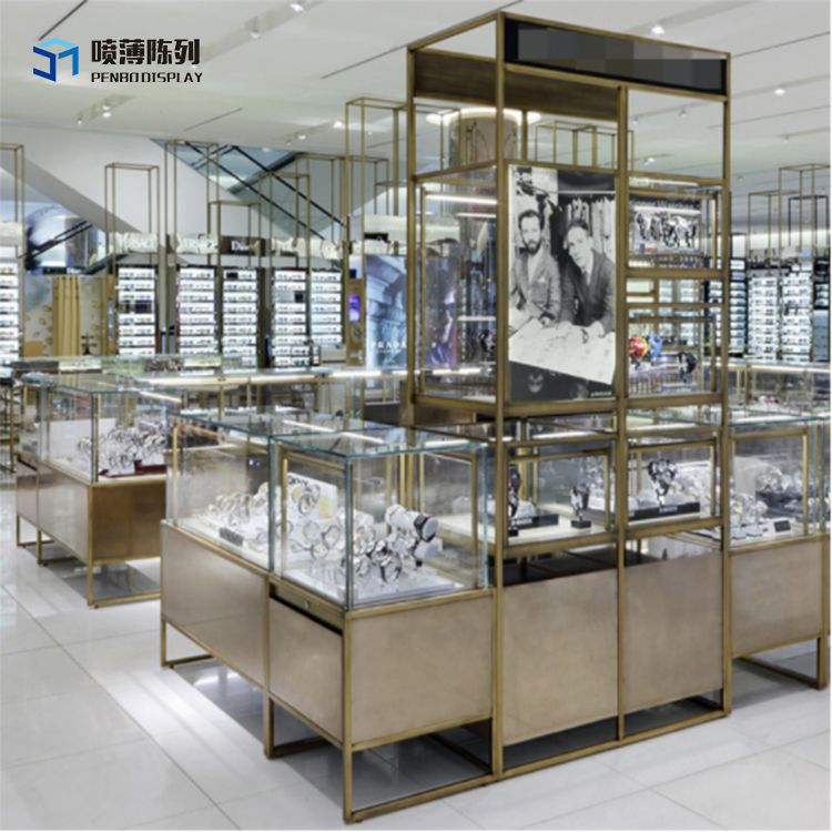 Good Quality Furniture Stores: Mall Watch Store Interior Design With High Quality