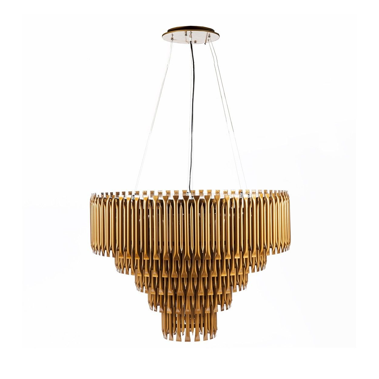 mcgrath mid century modern led chandelier l i g h t