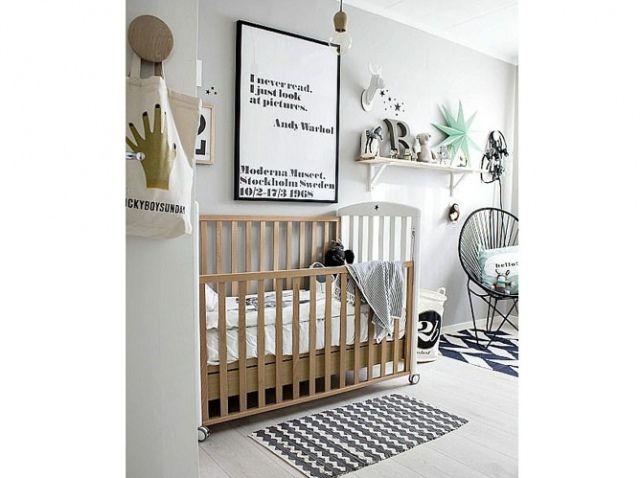 Chambre bebe noire blanche Petit homme Pinterest Kids rooms
