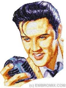 Elvis Embroidery