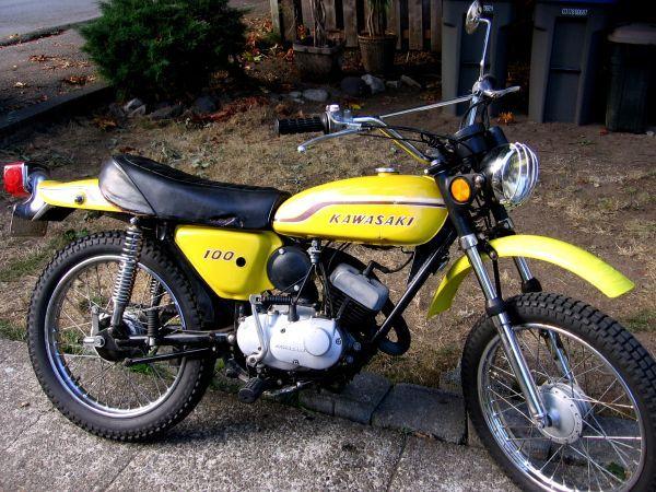 Kawasaki 100 1972 Hey Dave Retro Bike New Motorcycles Motorcycle