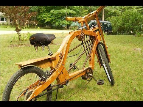 Fahrrad Wmv Youtube Holzfahrrad Fahrrad Holz